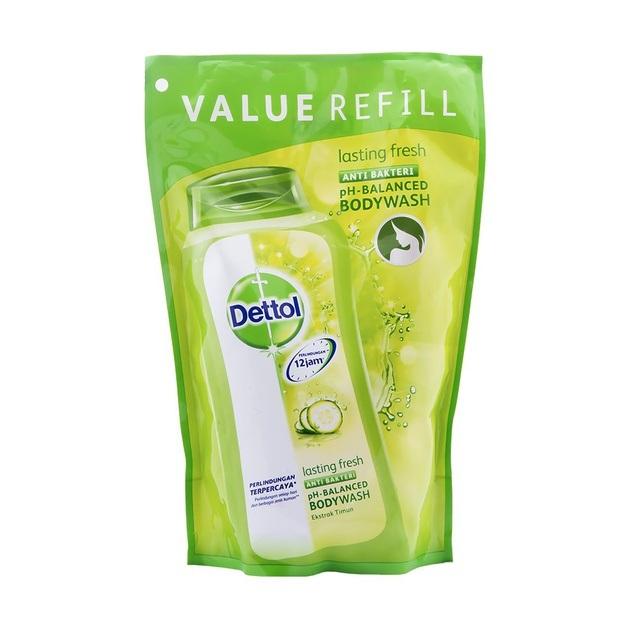 Dettol Bodywash Lasting Fresh Refill 410ml