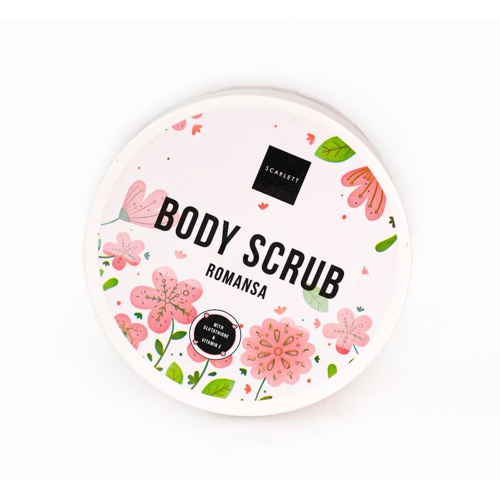Scarlett Body Scrub Romansa