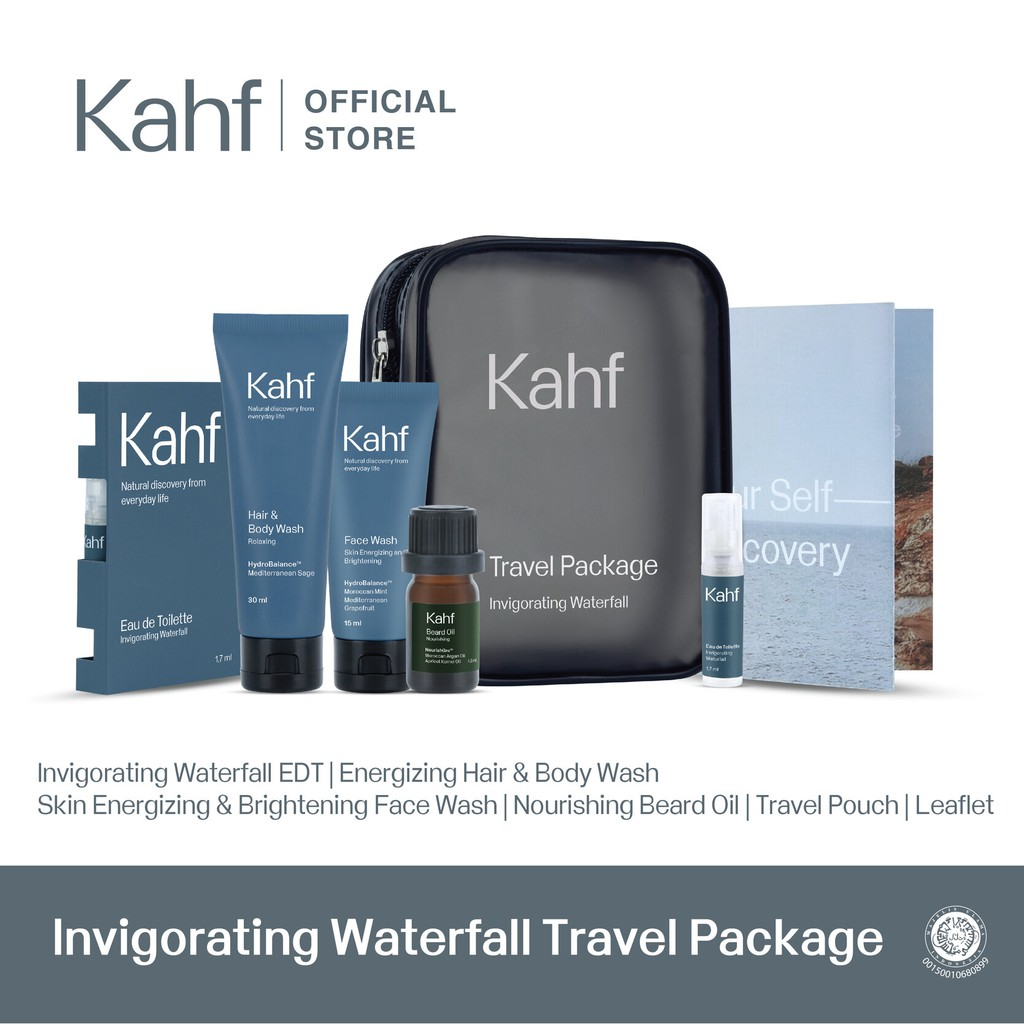 Kahf Invigorating Waterfall Travel Package