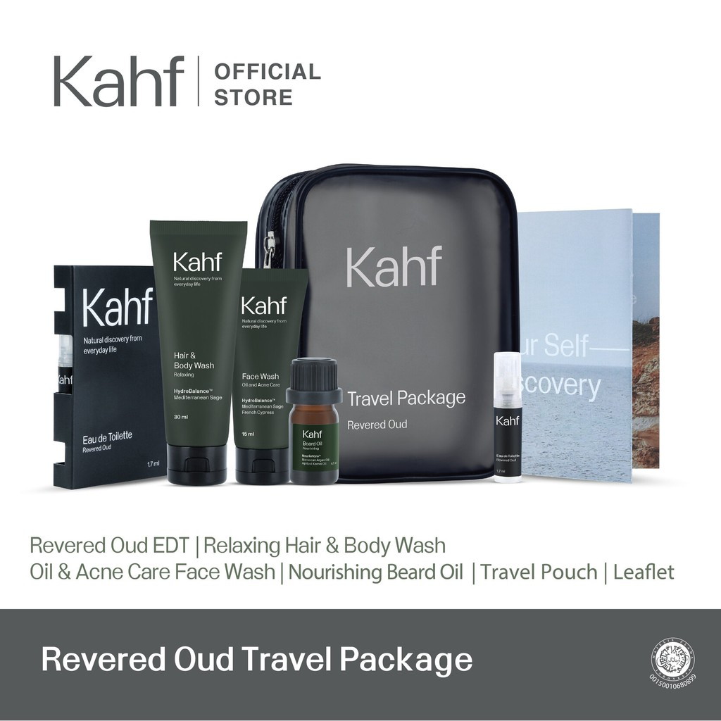 Kahf Revered Oud Travel Package