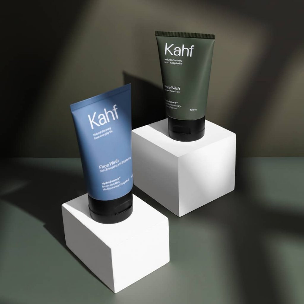 Produk kahf face wash