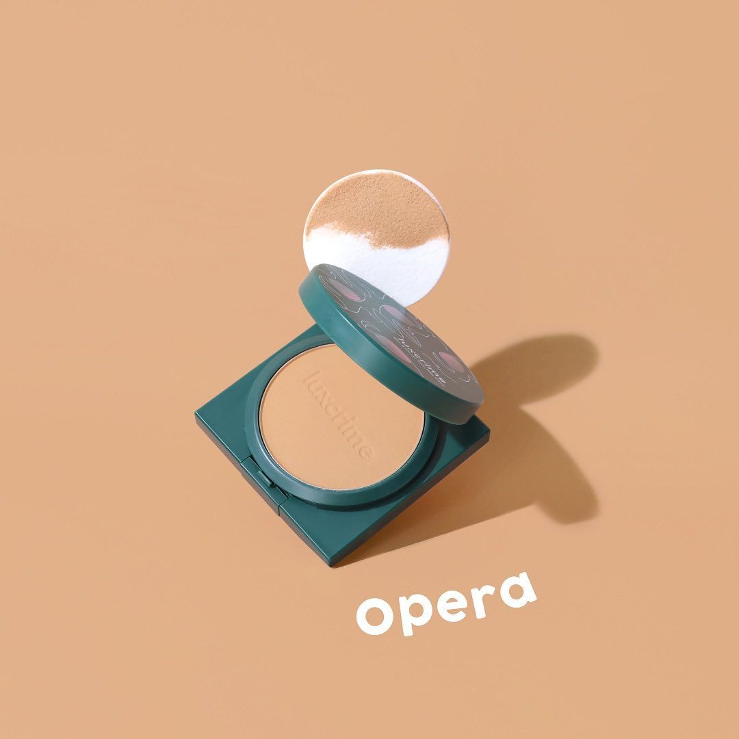 Luxcrime Blur & Cover Two Way Cake in Opera-5