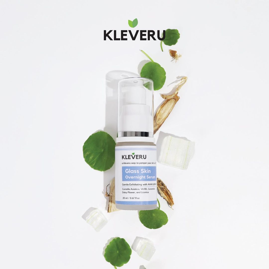 KLEVERU Glass Skin Overnight Serum-3