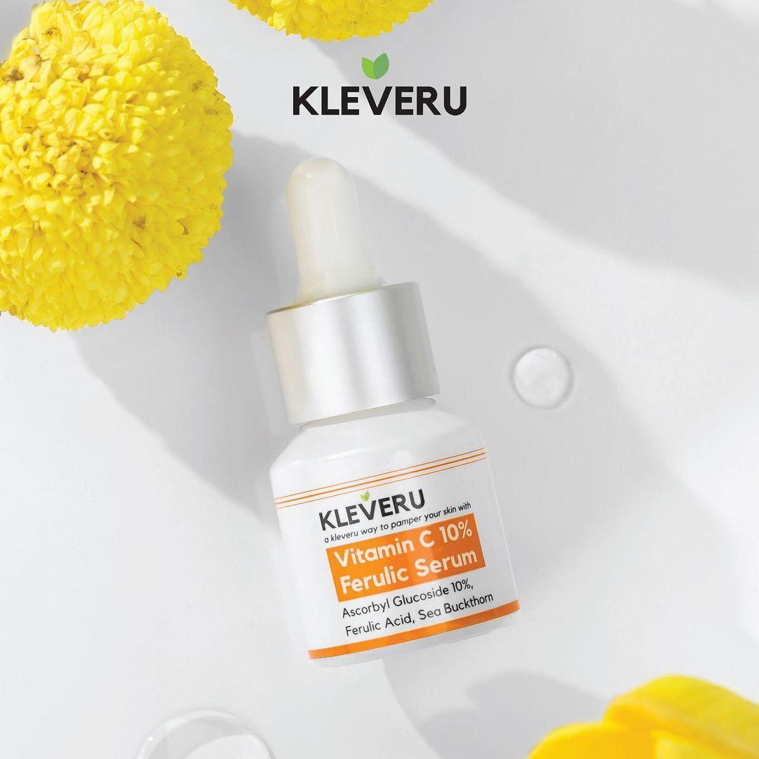 KLEVERU Vitamin C 10% Ferulic Serum-5