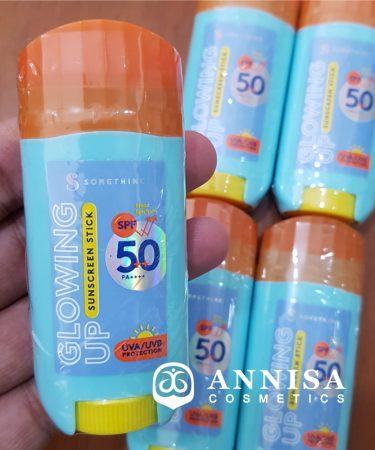 Somethinc Glowing Up Sunscreen Stick SPF 50 ++ PA++++-1