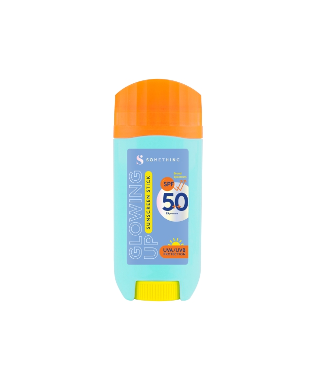 Somethinc Glowing Up Sunscreen Stick SPF 50