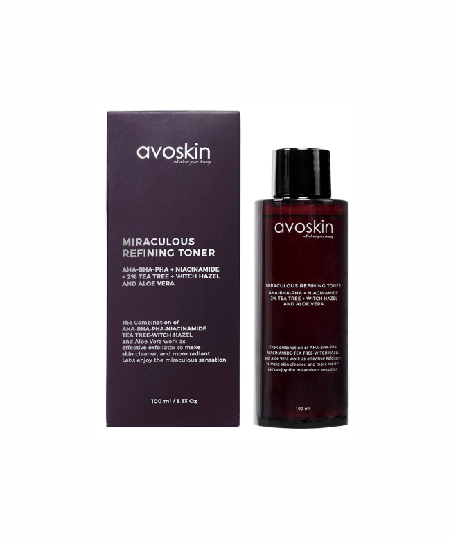 Avoskin Miraculous Refining Toner 100ml-18