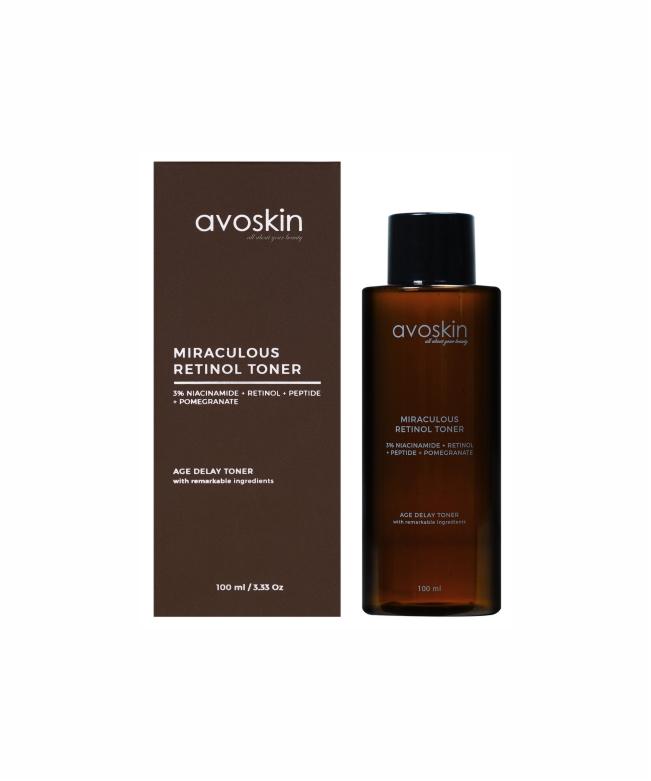 Avoskin Miraculous Retinol Toner 100 ML-18