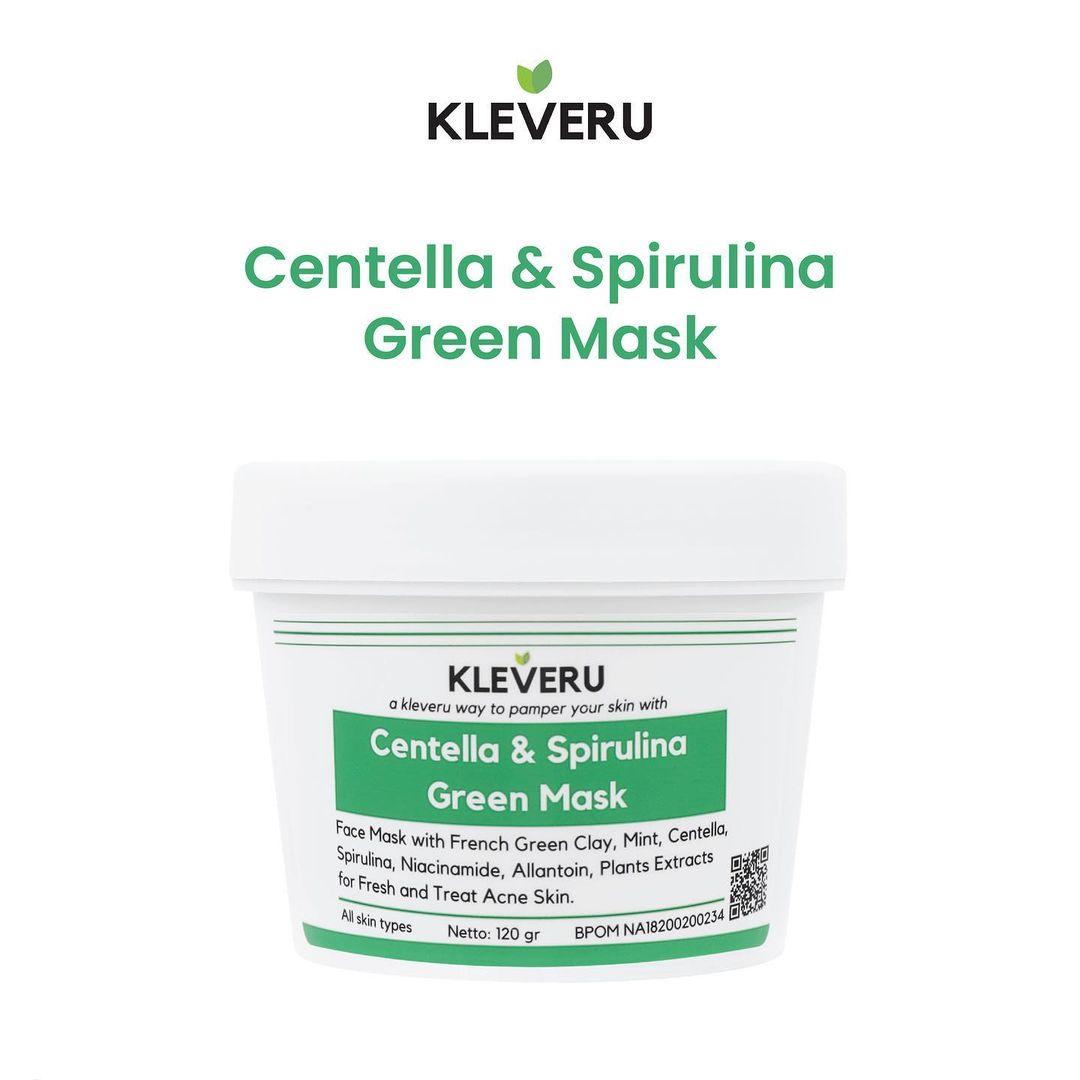 KLEVERU Centella and Spirulina Green Mask-1