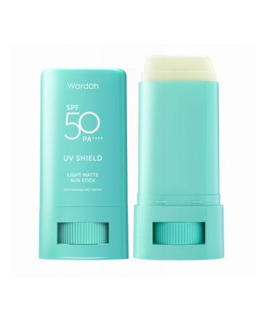 Wardah UV Shield Light Matte Sun Stick SPF 50 PA++++-5